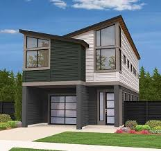 Contemporary Home Plans And Designs W3456 V1 Striking 3 To 4 Bedroom Contemporary House Plan With