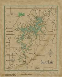 Table Rock Lake Map Welcome