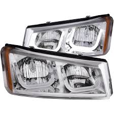 subaru headlight names anzo usa chevy silverado avalanche 03 06 crystal headlights u