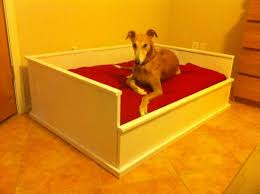 Homemade Dog Beds Ana White Farmhouse Dog Bed Diy Projects