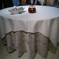 table linen wholesale suppliers upscale hotel round table cloth fashion jacquard cloth cotton