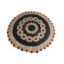 Round Traditional Rugs Traditional Rug Patterned Jute Round Lily Maria Starling