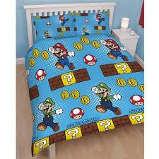 Mario Bedding Set Mario Duvet Cover Sweetgalas