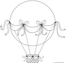 balloon coloring pages cool air balloon coloring pages cool color 7587 unknown