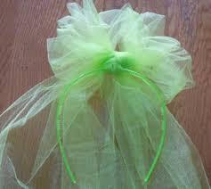 tulle hair bows how to make a hair bow tulle bow headband
