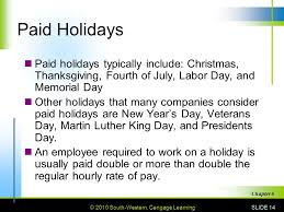 pay benefits and working conditions ppt