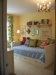 pottery barn daybed cover window curtain chandelier pillows shelf