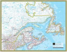 map of canada atlas eastern canada atlas maps
