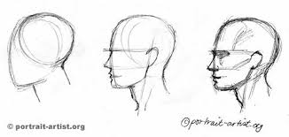 drawing the profile portrait lesson drawing tutorial