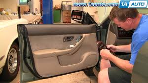 how to install replace master power window switch subaru outback