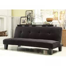 Black Tufted Sofa by Purple Velvet Tufted Sofa Bed Futon Caravana Furniture Toronto In