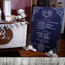 wedding program sign large wedding program oversized program for wedding ceremony