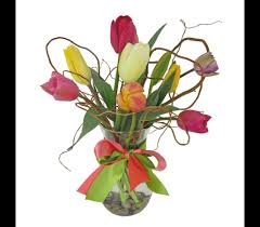 inexpensive flower delivery mixed oregon tulips in eugene or dandelions flowers