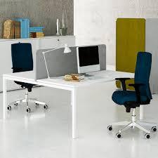 Preisg Stige Schreibtische 2er Team Schreibtisch Nova U 1 600 X 1 640 Mm In Weiß Bürotische
