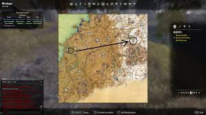 Deshaan Treasure Map Destinations Map Coords Compasses Elder Scrolls Online Addons