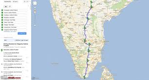 Map Of South India by The Three Musketeers Conquering South India Team Bhp