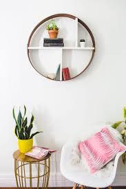 designs ideas decorative geo display wood wall shelving design