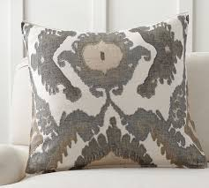 Pottery Barn Kilim Pillow Cover Hudson Ikat Pillow Cover Pottery Barn