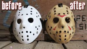 how to make a killer jason mask for under 25 friday the 13th