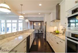 flooring galley kitchen designs with island kitchen style modern