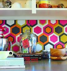 Kitchen Backsplash Decals Best 25 Vinyl Backsplash Ideas On Pinterest Vinyl Tile
