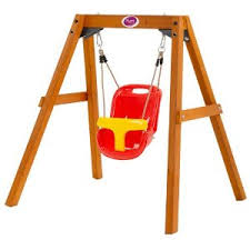 baby swing swing set plum wooden baby swing set i have the baby swing bet we could