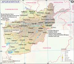 Spain On A World Map by Afghanistan Map Map Of Afghanistan