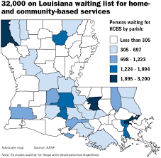 Louisiana Parishes Map by Inside Louisiana U0027 Nursing Home System That Values Profits Over