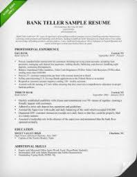 Resume Templates For Banking Chronological Resume Sles Writing Guide Rg