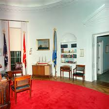 st c416 1 63 redecorated oval office with president john f