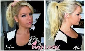 bombshell hair extensions review foxy locks deluxe clip in hair extensions min make up table