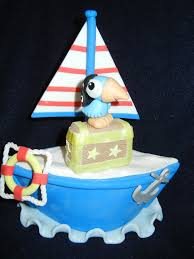 sailboat cake topper birthday party cake toppers and favors