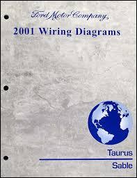 2001 ford taurus u0026 mercury sable wiring diagram manual original