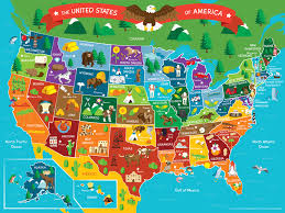 Map Of The United States And Mexico by Map Of The United States Of America Map Vector Monuments