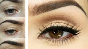 easy eyebrow tutorial how to trim tweeze shape fill your