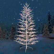 twinkle light christmas tree walmart artificial outdoor trees with lights home designs
