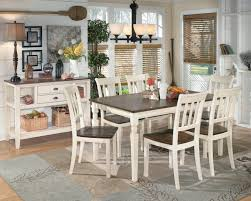 Cottage Dining Room Sets by Signature Design By Ashley Whitesburg 5 Piece Rectangular Dining