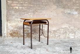 petit bureau ecolier bureau ancien écolier en bois et métal