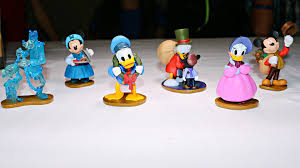disney mickey s carol special edition figurine playset 3
