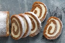 pumpkin cream cheese roll flourish king arthur flour