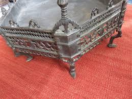 Antique Ottoman Anatolia Bursa Antique Ottoman Octagonal Cast Bronze Brazier