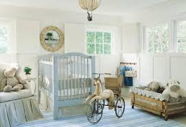 interior nursery ideas mixed with dark brown wooden baby bedding
