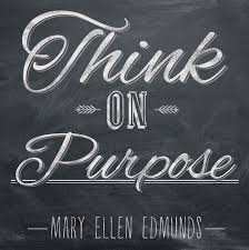 Challenge Purpose February Challenge Think On Purpose February Challenge