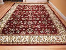 red persian rug ebay