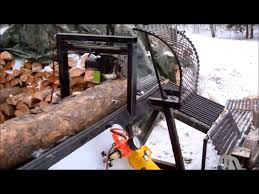 how to build a homemade firewood processor from scrap metal easy