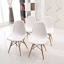 chaise blanche de cuisine amazon fr chaise scandinave blanc