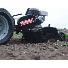 craftsman universal rear tiller lawn u0026 garden tractor