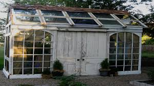 reuse old furniture potting shed from old windows potting shed