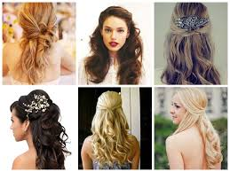 wavy half updo hairstyles beautiful long hairstyle