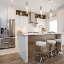 cuisine contemporaine blanche cuisine contemporaine blanche avec grand îlot home